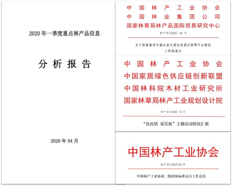 中国林产工业协会2020年上半年工作总结